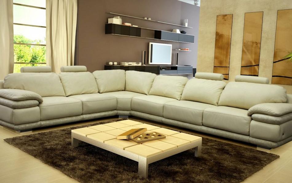 Фотография: Гостиная, Мягкая мебель, Диваны, Угловые диваны, Фото Угловой диван Париж (Рейн) MebelVia Mebelvia на